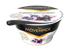 Йогурт Movenpick черника и смородина, 140г
