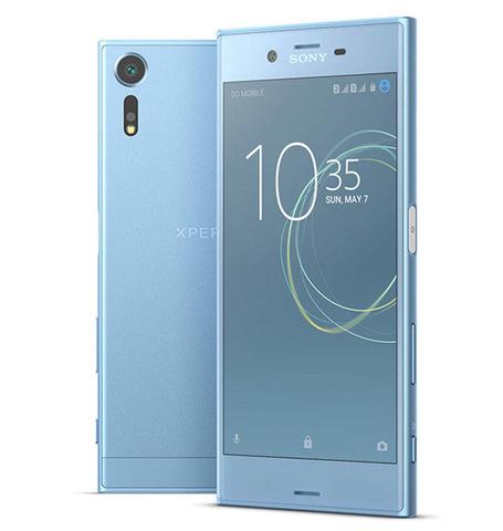 Смартфон Sony Xperia XZs, цвет ледяной синий