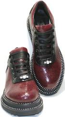 Туфли женские на низком ходу - туфли без каблука