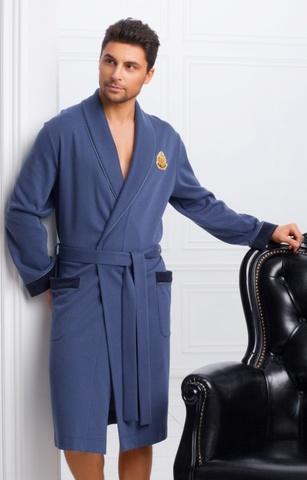 Мужской облегченный халат 30185  Laete Турция