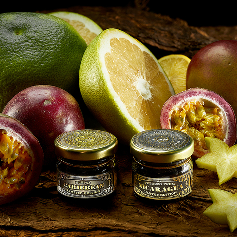 Табак WTO Caribbean Blend Tropic (ВТО Карибский Бленд Тропические фрукты) 20 г