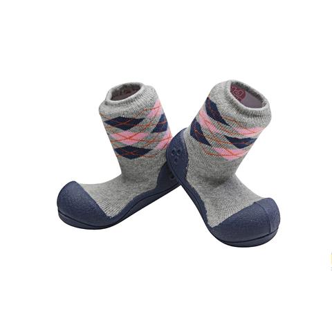 Детская обувь, ботинки марки Attipas Argyle серый