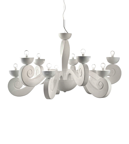 replica  Botero Pendant lamp 10 laights (white)