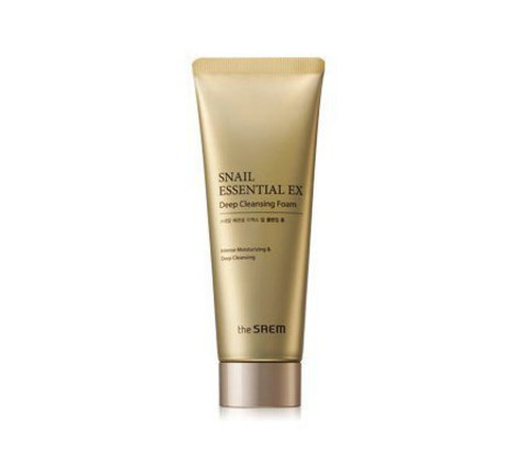 THE SAEM Snail Essential Пенка для умывания Snail Essential EX Wrinkle Solution Deep Cleansing Foam 150 гр