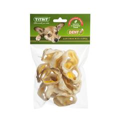 Titbit лакомство для собак Ракушки говяжьи, мягкая упаковка