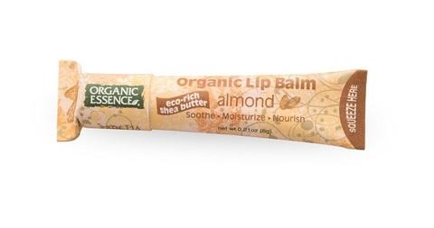 Органический бальзам для губ, Миндаль Organic Essence