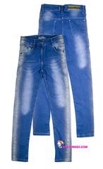 721 джинсы лампасы напыление