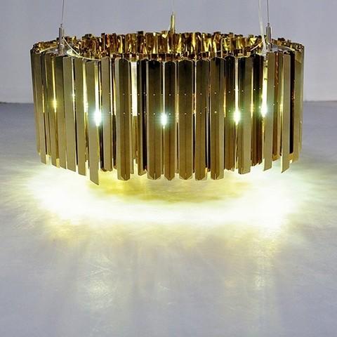 chandelier replica  Facet 12 by Tom Kirk Chrome  ( diam . 60 )