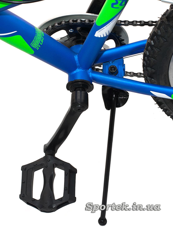 Педаль и подножка подросткового велосипеда Discovery Flint MC