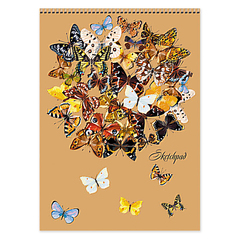 Скетчбук  Праздник бабочек