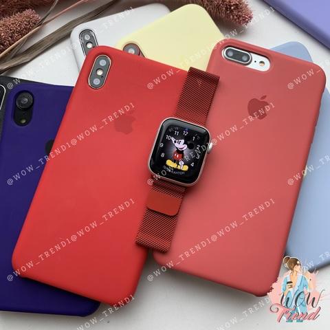 Ремешок Apple watch 42/44mm Milanese Loop /red/ красный