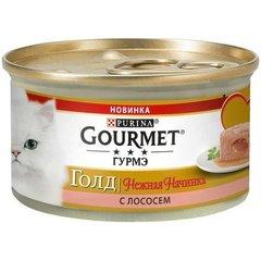 Gourmet Gold Нежная начинка с лососем 85гр
