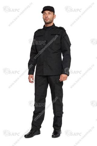 Камуфляжный костюм «ACU» (АКУ) Чёрный