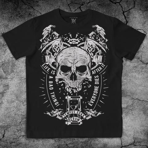Купить хлопковую футболку Skull для пауэрлифтинга, для зала, фитнеса, стиль жизни