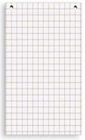 Комплект блоков бумаги для флипчартов GBG (универсальный, клетка)