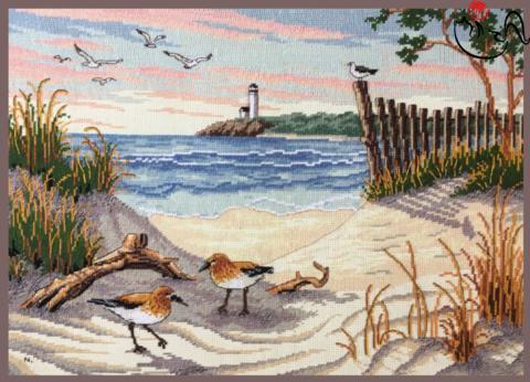 Набор для вышивания Красота пляжа. Арт. 3056