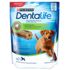 Лакомство для собак крупных пород, Purina DentaLife Standard