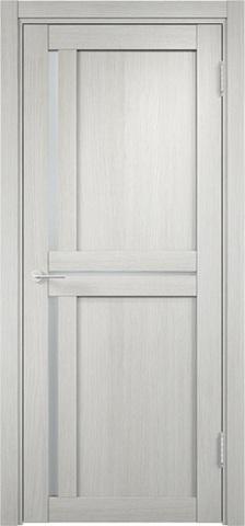 Дверь Eldorf Берлин 01, стекло Сатинато, цвет слоновая кость, остекленная