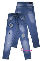 572 джинсы блестки