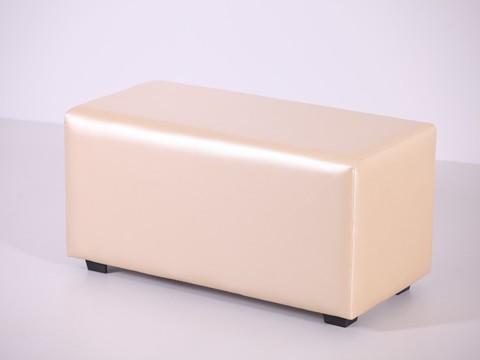 Пф-02 Пуфик прямоугольный (золото) для дома и магазина