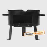 Печь под казан 200 литров(сталь 2 мм)
