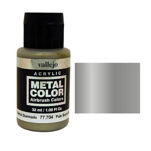 704 Краска Metal Color Бледно-жженый метал (Pale Burnt Metal) укрывистый, 32 мл