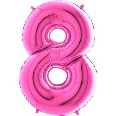 Цифра 8 (Фуксия)