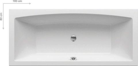 Акриловая ванна Ravak GENTIANA 150 x150 белая