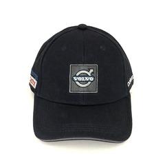 Кепка с вышитым логотипом Вольво (Бейсболка Volvo) черная