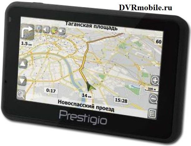 Автомобильный навигатор PRESTIGIO GeoVision 4141