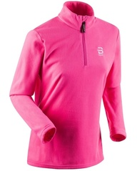 Женская флисовая толстовка Bjorn Daehlie HZ Drift 332007-31800 розовая