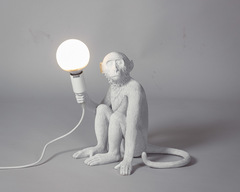 лампа настольная The Monkey Lamp Sitting Version
