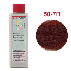 CHI Ionic Shine Shades Liquid Color 50-7R (Светло натуральный красный блондин) - Жидкая краска для волос