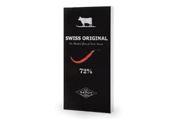 Горький шоколад с кайенским перцем Swiss Original, 100г