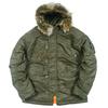 Куртка Аляска  Nord Storm N-3B Husky (каперс - capers/orange)