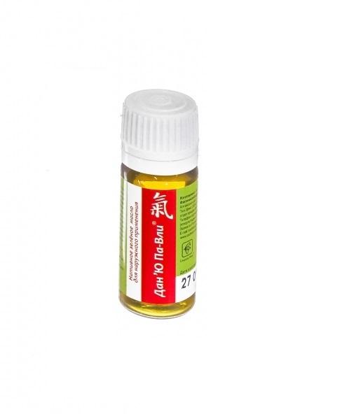 Дан'Ю Па-Вли зеленое масло при псориазе и демодекозе 12 мл.