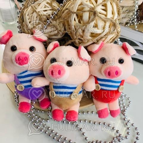 Сувенир 3 поросёнка брелки Мистер Пиг символ 2019 свинья