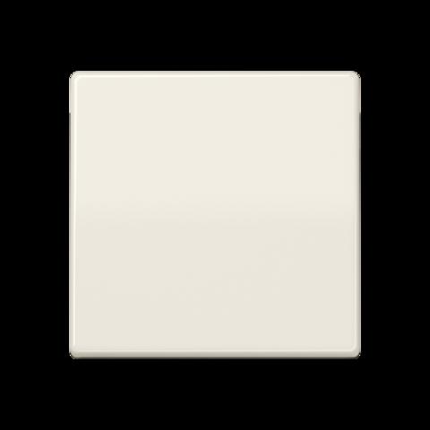 Выключатель одноклавишный. 10 A / 250 B ~. Цвет Блестящий слоновая кость. JUNG AS. 501U+AS591BF