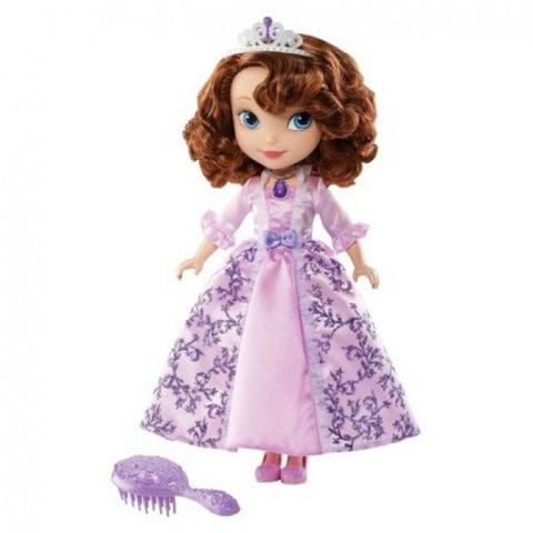 Кукла София Прекрасная (Sofia) в Бальном Платье - Sofia the First, Mattel