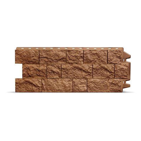 Фасадная панель Деке Скала 1052х425 мм Терракотовый