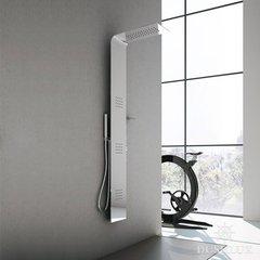 Душевая панель 161 см с термостатом, верхним душем 57х20 см и боковыми форсунками Hafro Lama Alulife 4LAA2N0 фото