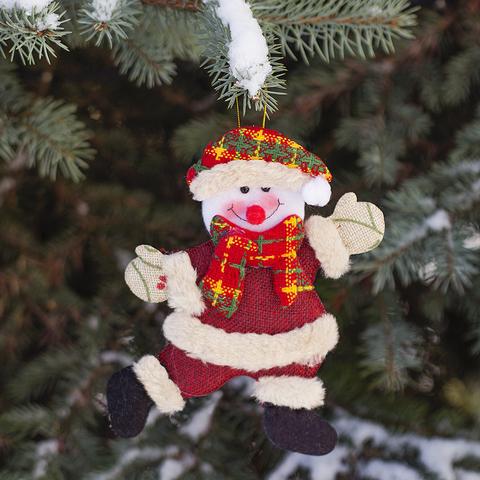 Игрушка елочная Snowman текстил.