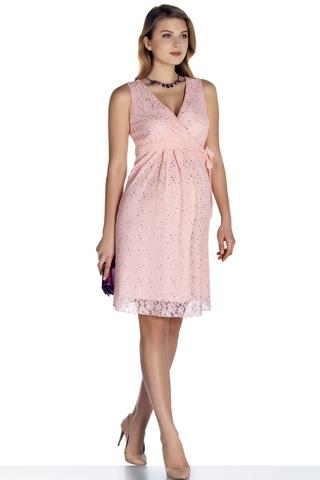 Платье 08696 розовый