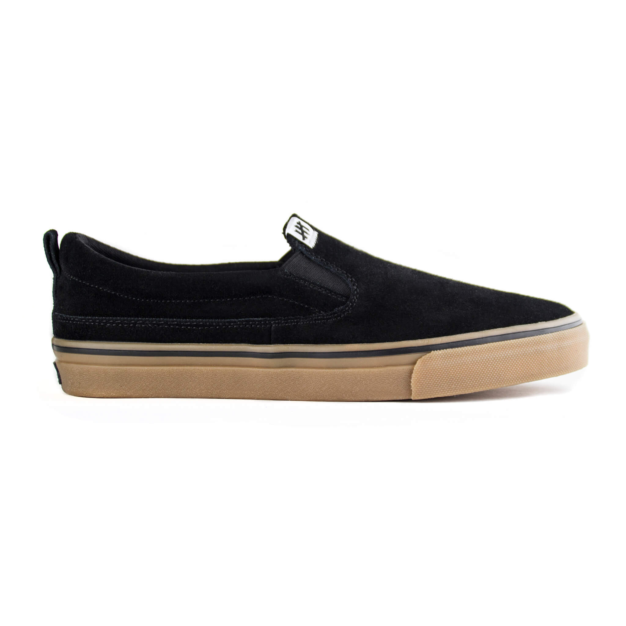Кеды (слипоны) SLACKERS The Rat (Black/Gum)