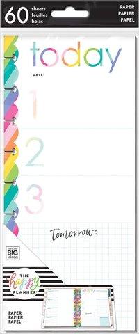 Внутренний блок для ежедневника- Classic Half Sheet Note Paper - Priority -60шт