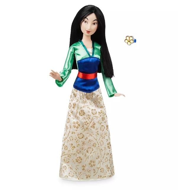 Кукла Мулан с кольцом Disney