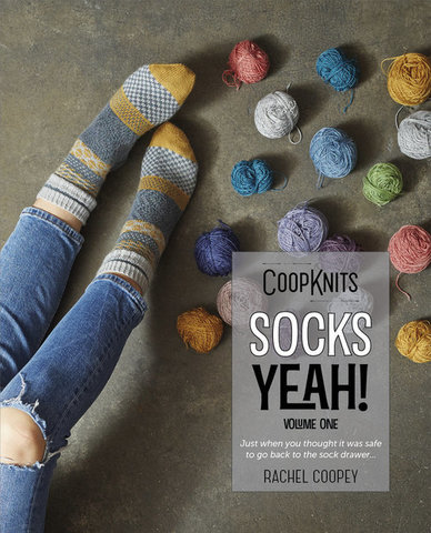 Книга Rachel Coopey CoopKnits Socks Yeah! Volume 1 купить