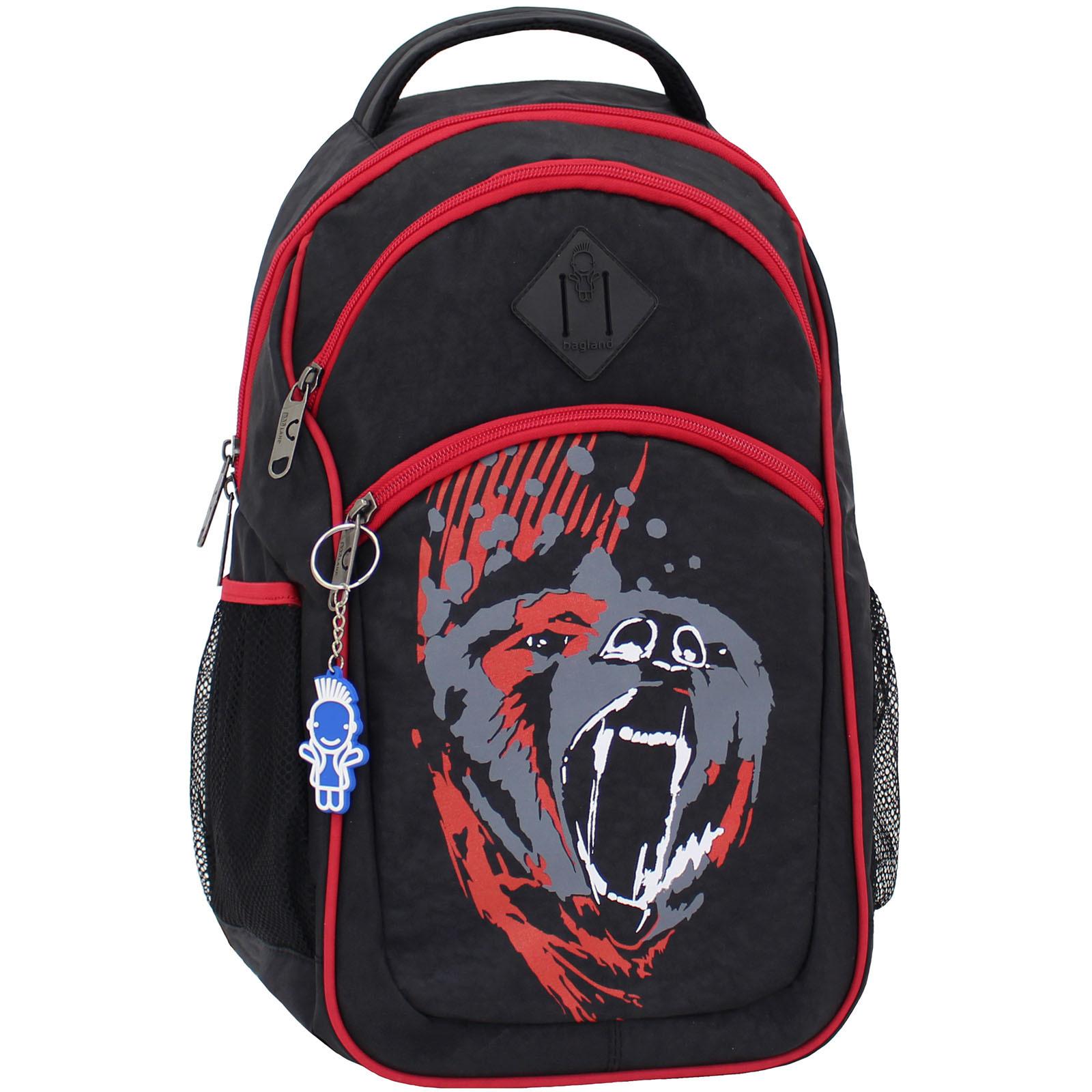 Городские рюкзаки Рюкзак Bagland Лик 21 л. Чёрный/красный (0055770) IMG_7642.JPG