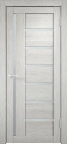 Дверь Eldorf Берлин 02, стекло Сатинато, цвет слоновая кость, остекленная