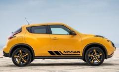 Набор наклеек на авто NISSAN